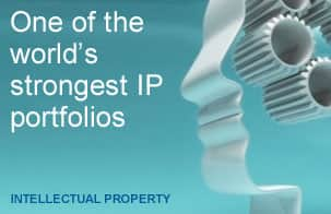 One of the world's strongest intellectual property portfolios