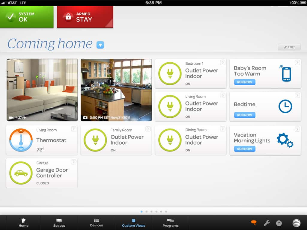 home security and automation from at t digital life at t. Black Bedroom Furniture Sets. Home Design Ideas