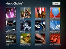 Music Choice TV app: Allows U-verse TV customers to easily choose from 46 Music Choice stations, and listen to the music you want, 24 hours a day, commercial free.