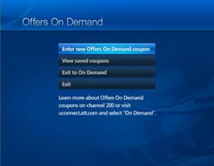 Offers on demand