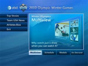 Multiview 2010 Olympic Winter  Games