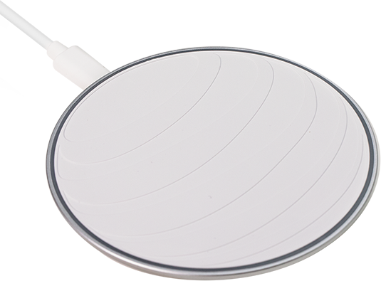 AT&T 15W Fast Charge Wireless Charging Pad - White