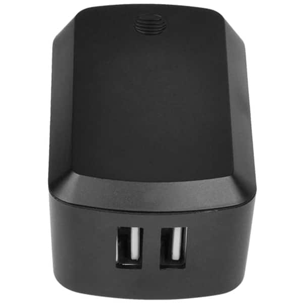 AT&T Charger 4.8A Dual USB Universal Wall Charger - Black