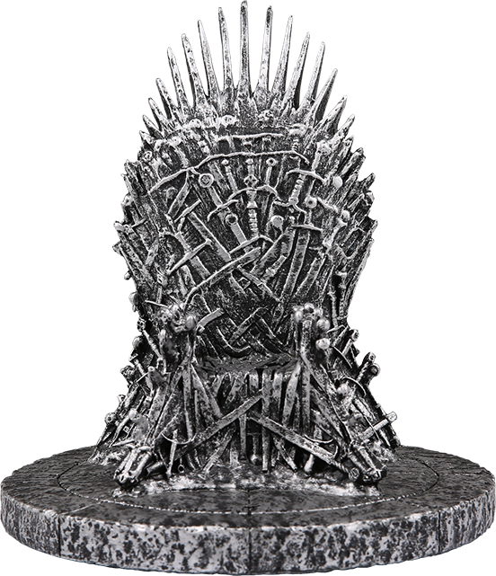 AT&T Game of Thrones(TM) Limited Edition Wireless Charging Iron Throne - Silver