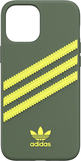 Adidas Samba Green with Yellow Stripes Case - iPhone 12 Pro Max - Green