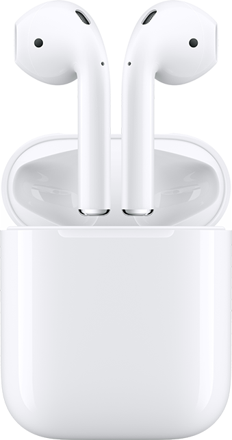 Apple AirPods con estuche de carga - Blanco