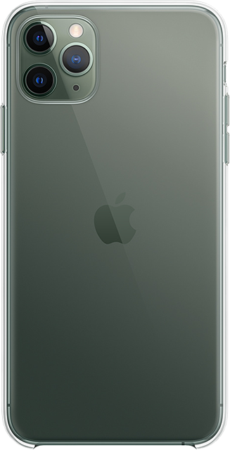 Apple Clear Case - iPhone 11 Pro Max - Clear