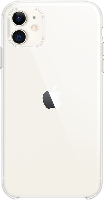 Apple Clear Case - iPhone 11 - Clear