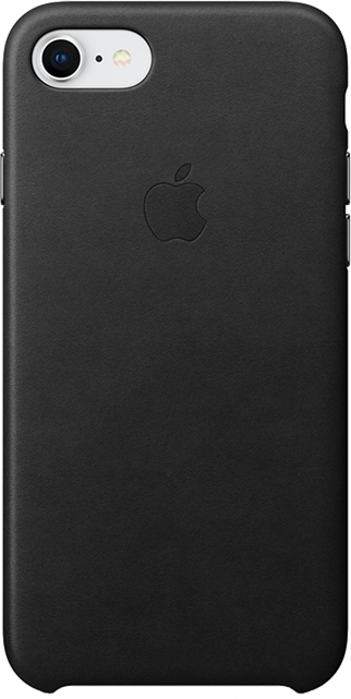 new concept 55889 3ef0b Apple Leather Case - iPhone 8