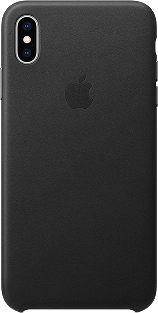 low priced c414e 3d6ec Apple Leather Case - iPhone XS Max