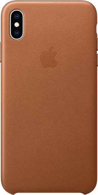 apple leather case iphone xs max