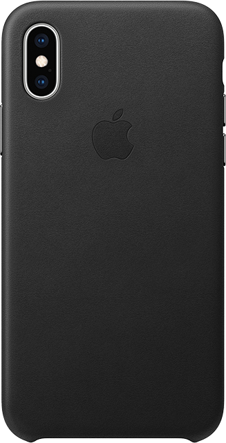 Apple Leather Case - iPhone XS
