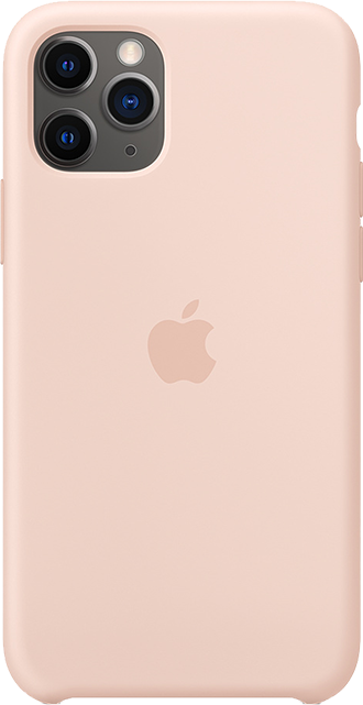 Apple Silicone Case - iPhone 11 Pro - Pink Sand