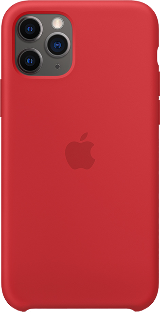 Apple Silicone Case - iPhone 11 Pro - Red