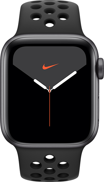 Apple Watch Nike Series 5 - 40 mm - Aluminio gris espacial - Negro antracita