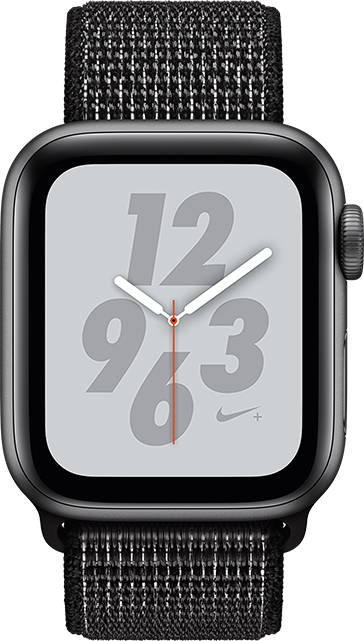 sneakers for cheap bf9c4 7bc75 Apple Watch Series 4 Nike+ - 40mm