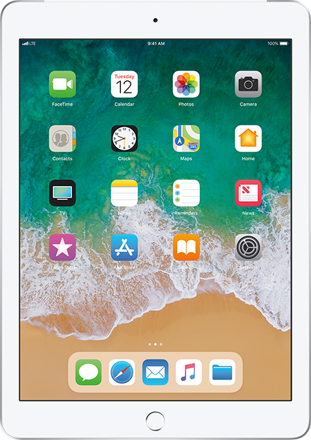 Apple iPad 9.7-inch 6th Gen for $23.00/mo!
