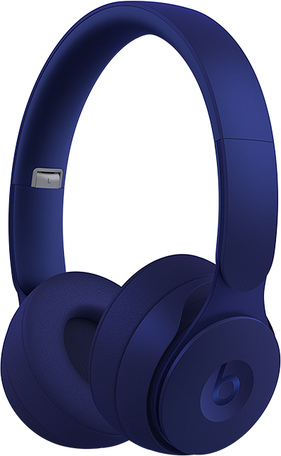 Beats Solo Pro Wireless Noise Cancelling Headphones - More Matte Collection - Navy