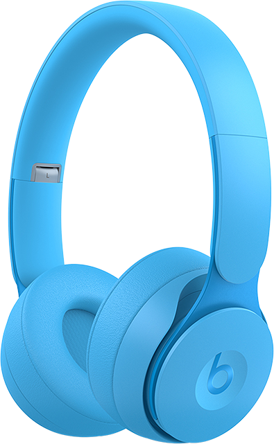 Beats Solo Pro Wireless Noise Cancelling Headphones - More Matte Collection - Sky Blue