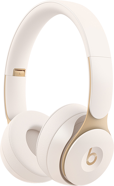 Beats Solo Pro Wireless Noise Cancelling Headphones - White
