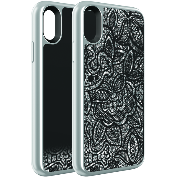 official photos 405ab f1f65 Body Glove Illusive Glitter Lace Case - iPhone X
