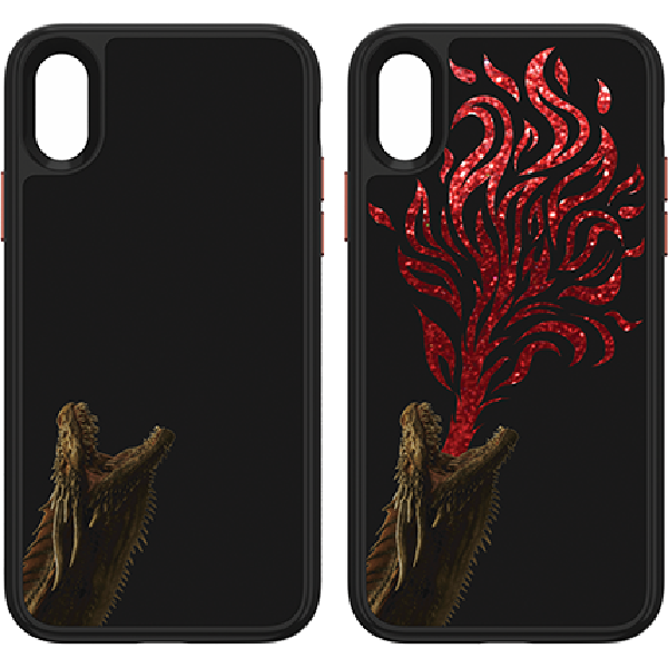 innovative design 758fc cc680 Fellowes Game of Thrones Illusive Dragon Case - iPhone XR