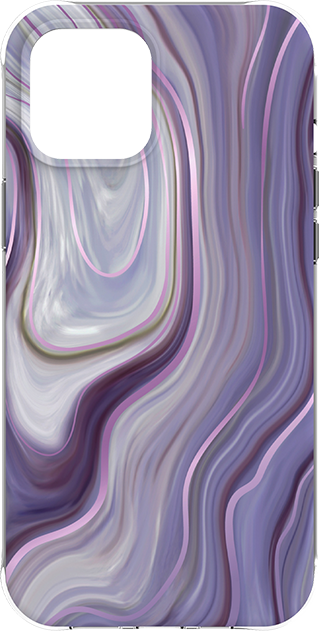 Karma by BodyGlove Marble Case - iPhone 12 mini - Purple