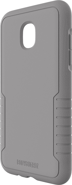 BodyGuardz Gray Shock Case with Unequal Technology - Galaxy J3 (2018)