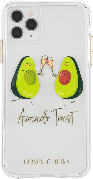Carson & Quinn Avocado Toast Case - iPhone 11 Pro Max/XS Max - Multi