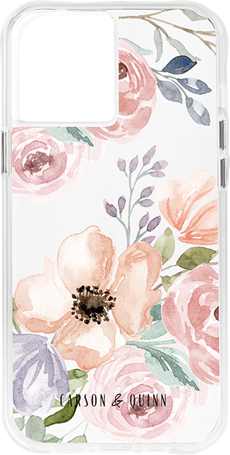 Carson & Quinn Dusty Floral Case - iPhone 12 Pro Max - Dusty Floral