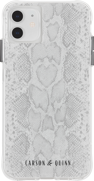 Carson & Quinn Gray Snake Case - iPhone 11/XR - Multi