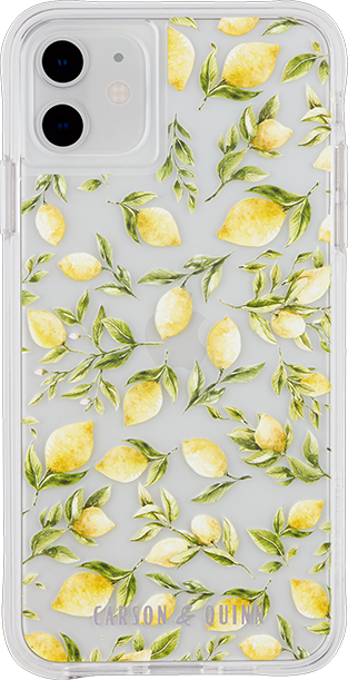 Carson & Quinn Lemons Case - iPhone 11/XR - Multi