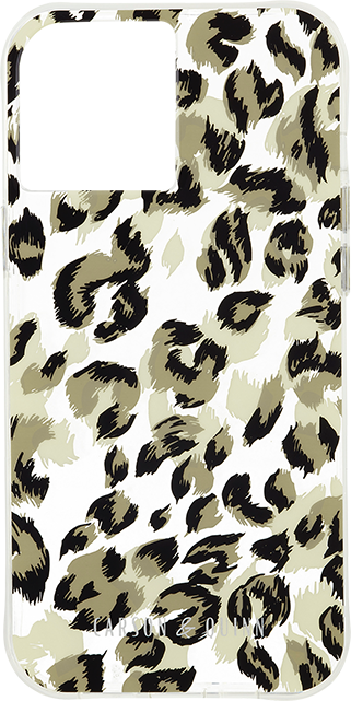 Carson & Quinn Leopard is the New Black Case - iPhone 12/12 Pro - Multi