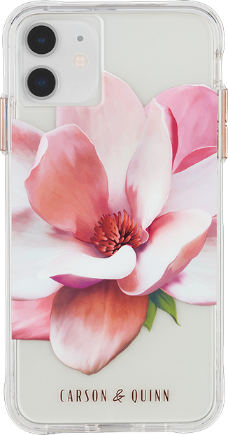 Carson & Quinn Rose Gold Magnolia Case - iPhone 11/XR
