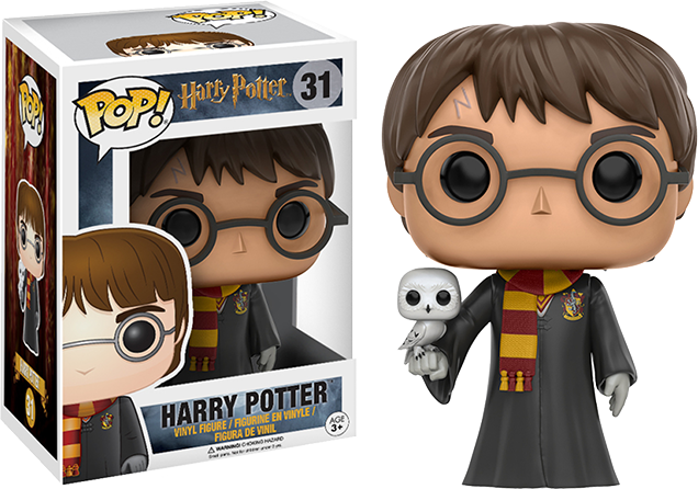Funko Pop Harry Potter with Hedwig