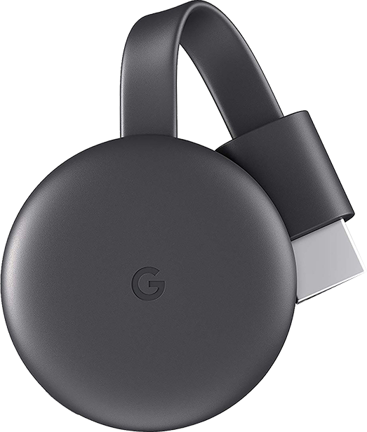 Dispositivo de streaming Google Chromecast 3.ª generación - Negro