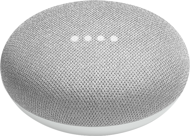 Google Home Mini Wi-Fi Connected Speaker