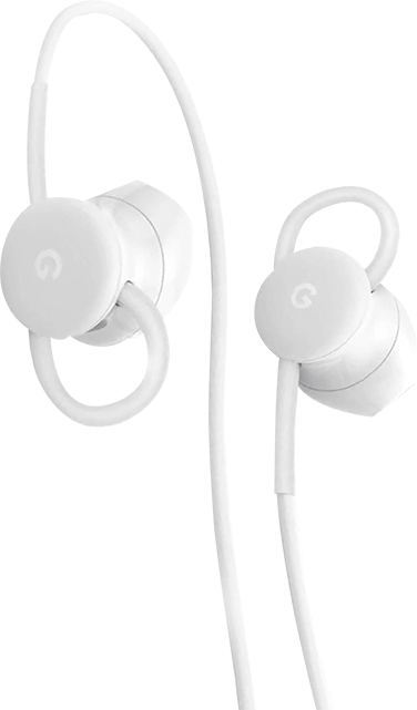 Google Pixel USBC Corded Earbuds - White