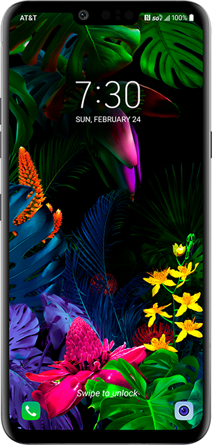 LG G8 ThinQ - Aurora Black