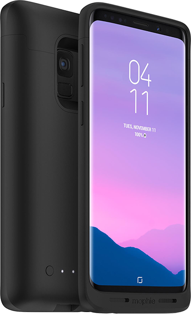 mophie Juice Pack Charging Case - Samsung Galaxy S9 - Black