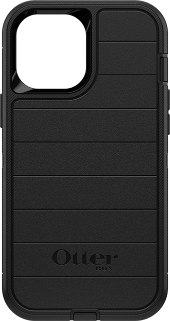 OtterBox Defender Pro Series Case and Holster - iPhone 12 Pro Max - Black