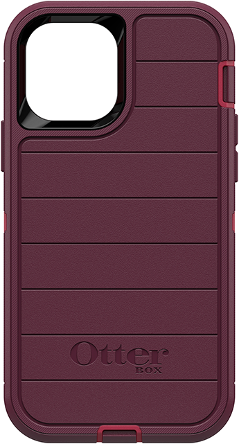OtterBox Defender Pro Series Case and Holster - iPhone 12/12 Pro - Berries Potion