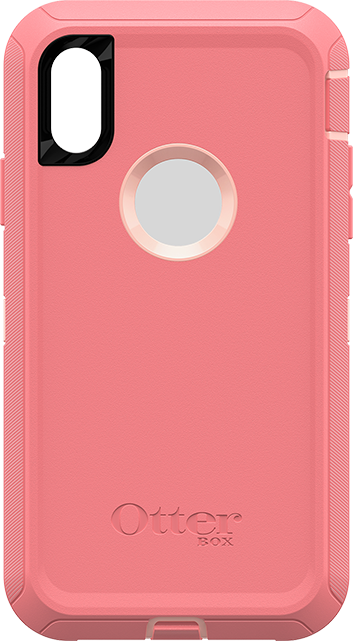 OtterBox Defender Series Case and Holster - iPhone XR - Pink Lemonade