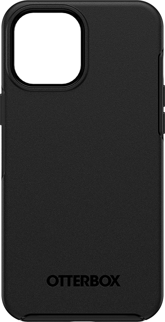 OtterBox Symmetry + MagSafe Series Case - iPhone 12 Pro Max - Black