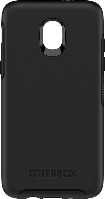 new products 58cba 9a7ac OtterBox® Symmetry Series® Black Case - Galaxy J3 (2018)