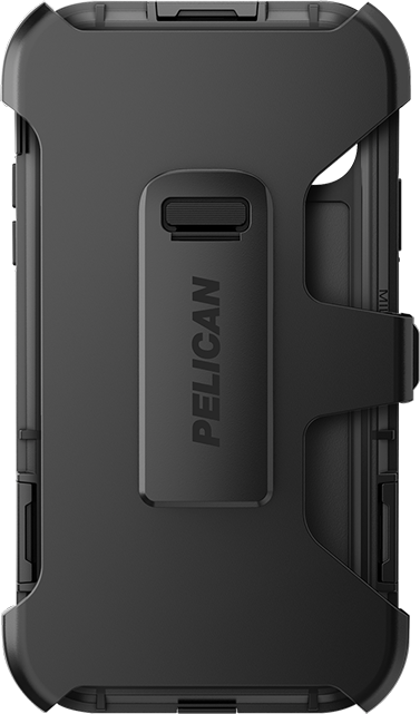 Pelican Shield with Kevlar Case + Holster - iPhone 11/XR - Black
