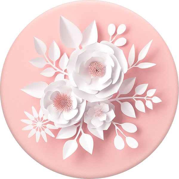 PopSocket Paper Flowers Swappable PopGrip