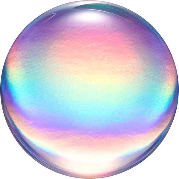 PopSocket Rainbow Orb Gloss Swappable PopGrip