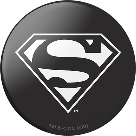 PopSocket Superman Black Gloss - Black