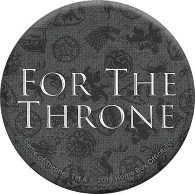 PopSockets Game of Thrones For the Throne, negro